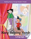libro Muchas Manos Ayudan (many Helping Hands)