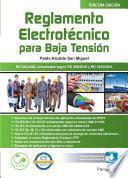 Reglamento Electrotécnico Para Baja Tensión Edición 2017
