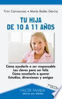 libro Tu Hija De 10 A 11 Años