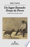 libro Un Lugar Llamado Oreja De Perro