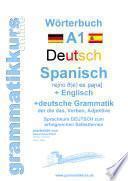 libro Wörterbuch Deutsch   Spanisch   Englisch A1 Lektion 1