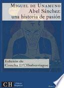 libro Abel Sánchez: Una Historia De Pasión