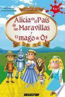 libro Alicia En El País De Las Maravillas Y El Mago De Oz