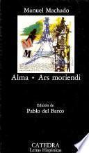 libro Alma ; Ars Moriendi