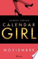 Calendar Girl. Noviembre (edición Cono Sur)