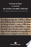 libro La Celestina. Del Autor A Un Amigo. Prólogo (texto Adaptado Al Castellano Moderno Por Antonio Gálvez Alcaide)
