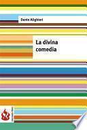 La Divina Comedia (low Cost). Edición Limitada