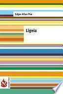 libro Ligeia (low Cost). Edición Limitada
