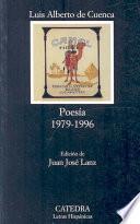 Poesía, 1979 1996