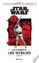 libro Star Wars. Las Leyendas De Luke Skywalker