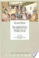 libro Tradiciones Peruanas