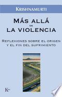 libro Más Allá De La Violencia