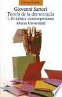 Teoría De La Democracia. 1, El Debate Contemporáneo