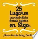 libro 25 Lugares Imprescindibles Donde Comer En Santiago