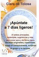 libro Apúntate A 7 Días Ligeros