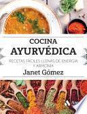 libro Cocina Ayurvédica