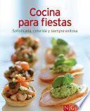libro Cocina Para Fiestas