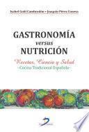 libro Gastronomía Versus Nutrición