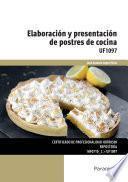 libro Uf1097   Elaboración Y Presentación De Postres De Cocina