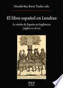 El Libro Español En Londres