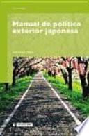 Manual De Política Exterior Japonesa