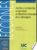 Política Y Literatura En Quevedo