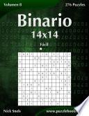 libro Binario 14x14   Fácil   Volumen 8   276 Puzzles
