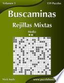 libro Buscaminas Rejillas Mixtas   Medio   Volumen 3   159 Puzzles
