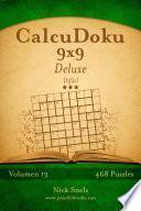 Calcudoku 9x9 Deluxe   Difícil   Volumen 13   468 Puzzles