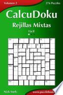 libro Calcudoku Rejillas Mixtas   Fácil   Volumen 2   276 Puzzles