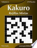 Kakuro Rejillas Mixtas   Volumen 6   270 Puzzles