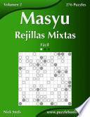 libro Masyu Rejillas Mixtas   Fácil   Volumen 2   276 Puzzles