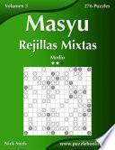 libro Masyu Rejillas Mixtas   Medio   Volumen 3   276 Puzzles