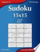Sudoku 15x15   Difícil   Volumen 25   276 Puzzles
