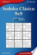 Sudoku Clásico 9x9   De Fácil A Experto   Volumen 1   276 Puzzles