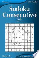 libro Sudoku Consecutivo   Medio   Volumen 3   276 Puzzles