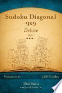 Sudoku Diagonal 9x9 Deluxe   Difícil   Volumen 11   468 Puzzles