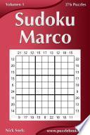 Sudoku Marco   Volumen 1   276 Puzzles