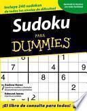libro Sudoku Para Dummies