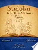 Sudoku Rejillas Mixtas Deluxe   Experto   Volumen 61   476 Puzzles