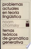 Problemas Actuales En Teoría Lingüística