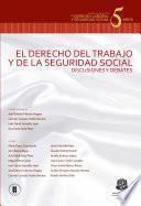 El Derecho Del Trabajo Y De La Seguridad Social