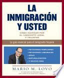 libro La Inmigracion Y Usted