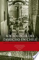 libro Sociología Del Derecho En Chile