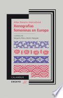 libro Atlas Literario Intercultural. Xenografías Femeninas En Europa