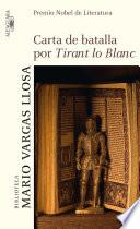 libro Carta De Batalla Por Tirant Lo Blanc