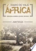 libro Diario De Viaje   África