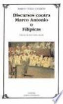 libro Discursos Contra Marco Antonio O Filípicas