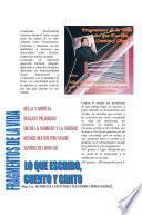 libro Fragmentos De La Vida, Lo Que Escribo, Cuento Y Canto