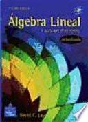 Algebra Lineal Y Sus Aplicaciones